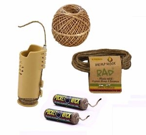 RAD Hemp Wick Lighter Sleeve