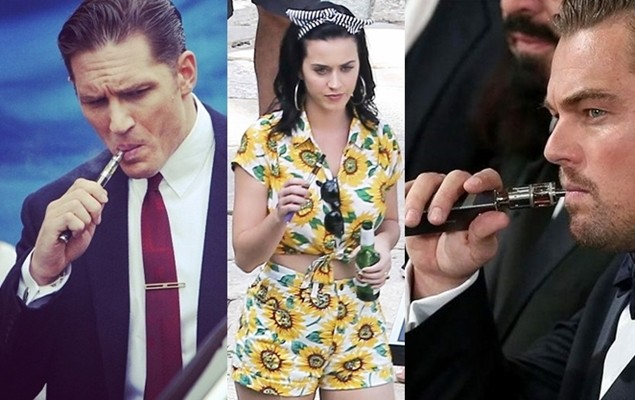 10 Celebrities Who Just Love Their Vapes