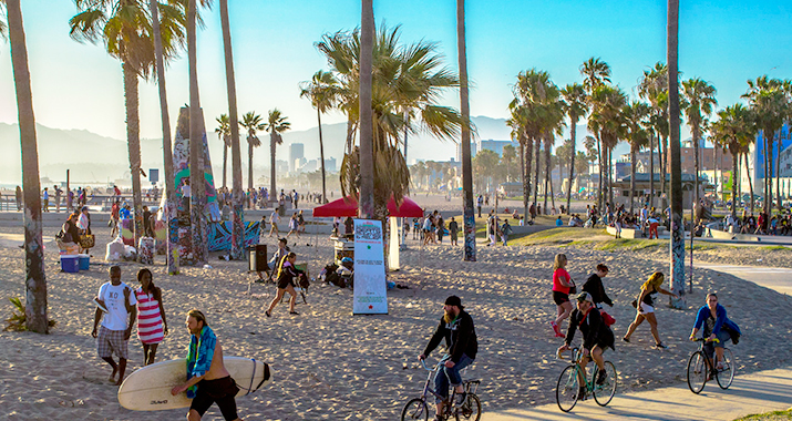2018 Is High Times for Many Californians and Tourists