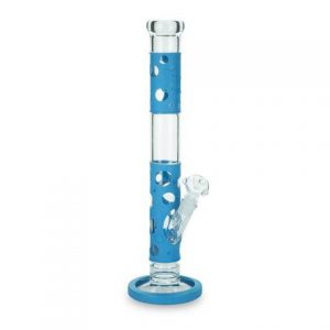 BL' 'Silly Skin' Cylinder Bong with Silicone Skin