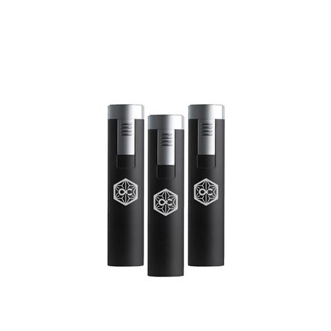 Windproof Turbo Torch Lighter (refillable) - 3 pack